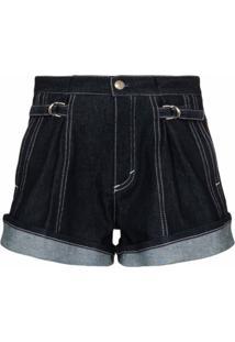 Chloé Short Jeans - Azul
