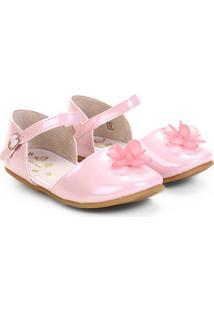 Sapato Pimpolho Fase 79 Menina - Feminino-Rosa