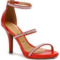 b3879155c Sandália Conforto Vermelha feminina | Shoes4you