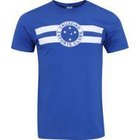 15ebbd5ccb0c0 Camiseta Do Cruzeiro Logo - Masculina - Azul