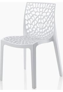 Cadeira Gruver Polipropileno Branca - 16778 Sun House