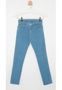 Calça Jeans Infantil Express Thor Masculina - Masculino-Azul