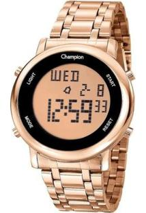 Relógio Champion Digital Ch40213Z Feminino - Feminino-Rosa