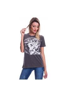 Camiseta Jazz Brasil Media Corporation Preto Estonado