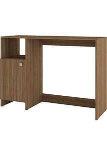 Mesa Para Computador Com 1 Porta E 1 Prateleira Bc 63 - Brv Móveis - Carvalho