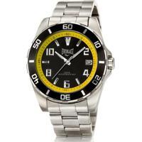 44001362e80 Netshoes. Relógio Pulso Everlast Caixa E Pulseira ...