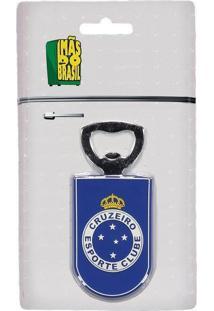 Imã Cruzeiro Abridor De Garrafas Escudo