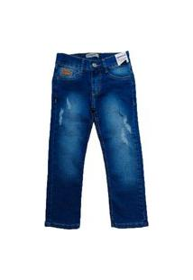 Calça Jeans Infantil Manabana Menino