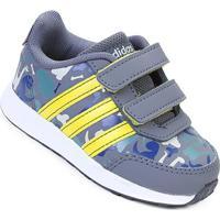 86cd9f3a3a Tênis Infantil Adidas Vs Switch 2 Cmf Feminino - Unissex-Cinza+ Amarelo