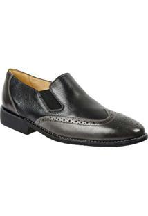 Sapato Masculino Side Gore Sandro Moscoloni Hiago