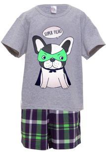 Pijama Menino Infantil Super Filho Luna Cuore