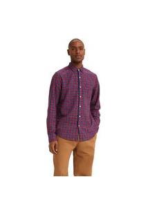 Camisa Levi'S Classic 1 Pocket Standard - 50075 Vinho