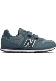 Tênis Bebê New Balance 500 Masculino - Masculino-Verde