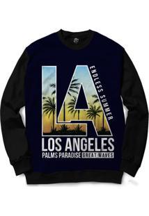 Blusa Bsc Los Angeles Full Print - Masculino