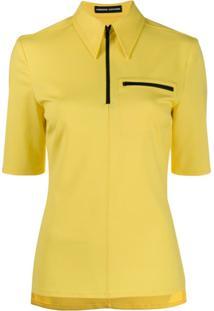 Kwaidan Editions Camisa Polo Slim - Amarelo