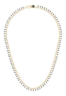 Isabel Marant Casablanca Beaded Necklace - Preto