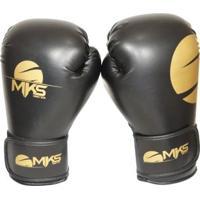 83084f148 Luva Boxe Mks Combat Champions Gold - Unissex