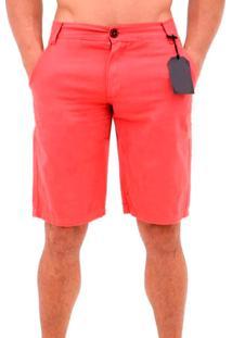 Bermuda Short Masculina Sarja - Laranja - Masculino - Dafiti