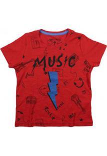 Camiseta Infantil Momentus Menino