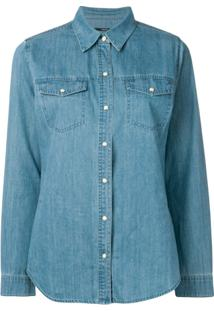 J Brand Jaqueta Jeans Clássica - Azul