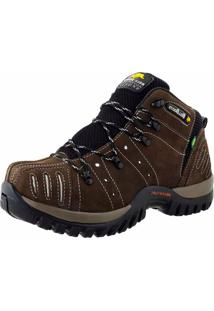 Bota Adventure Em Couro Bell-Boots Chumbo