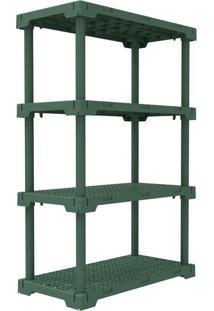 Estante Cube Verde Alecrim (127X82 Cm)