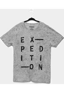 Camiseta Infantil Rovitex Degradê - Masculino-Mescla