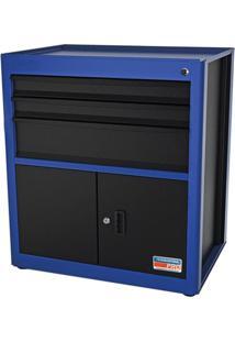 Módulo 3 Gavetas 2 Portas Azul 44954212 Tramontina