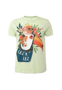 Camiseta Lez A Lez Preludio Verde