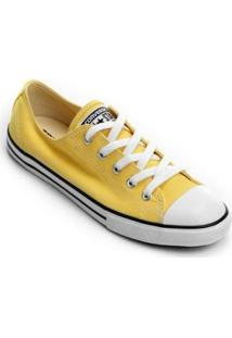 Tênis Converse All Star Ct As Core Ox Feminino - Feminino-Amarelo