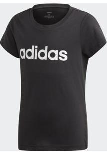 Camiseta Infantil Adidas Yg E Lin Feminina - Feminino
