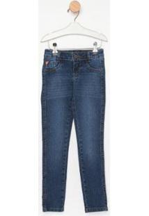 Calça Jeans Infantil Express Skinny Jojo Feminina - Feminino