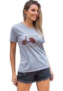Camiseta Basica My T-Shirt Summer Travel Mescla - Kanui