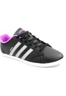 e9a124dcd5 Tênis Adidas Coneo Qt Preto Cinza Pink - F98268
