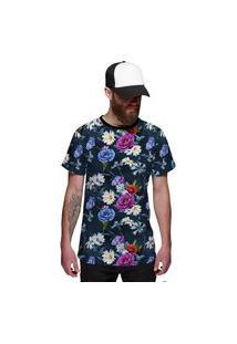Camisa Jardim Florido Style Azul Veráo 2019