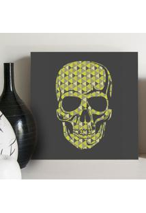 Quadro - Triangles Skull