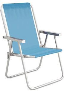 Cadeira Alta Conforto Alumínio Sannet - Unissex