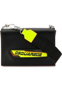 Dsquared2 Clutch Com Logo - Preto