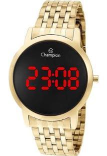 Relógio Champion Feminino Digital - Feminino-Dourado