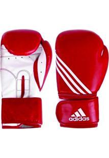 46a4f5a45 Luva De Boxe Adidas Training 16 Oz Vermelho Branca