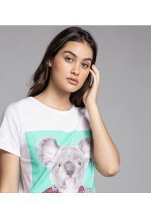 T-Shirt Estampa Coala Darling - Lez A Lez