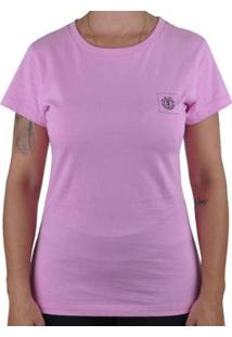 Camiseta Element Bottled Romance Feminina - Feminino-Rosa Claro
