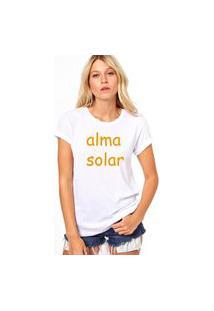 Camiseta Coolest Alma Solar Branco