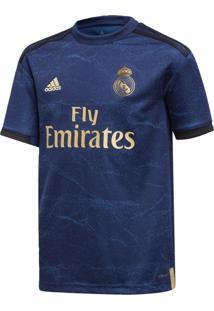 Camisa Adidas Real A Jsy Y Azul - Kanui