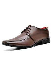 Sapato Social Com Cadarço Dubuy 804Mr Marrom