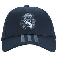 Boné Aba Curva Real Madrid 3S Adidas - Strapback - Adulto - Cinza Escuro d0d98f6cdf