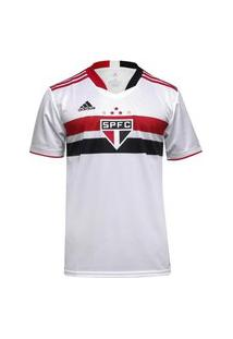 Camisa Adidas Sáo Paulo Oficial I 2020/21 Masculina - Branco