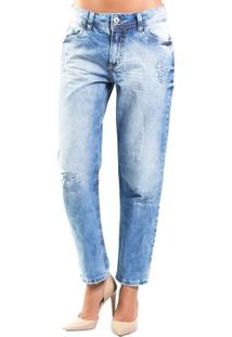 Calça Jeans Tomboy Médio Colcci
