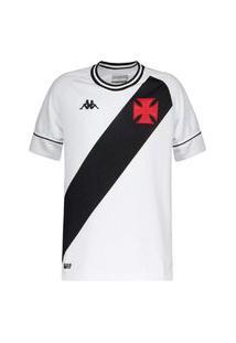 Camisa Kappa Vasco Oficial Ii 2020 Juvenil
