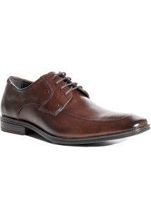 Sapato Masculino Em Couro Democrata Metropolitan Tompson